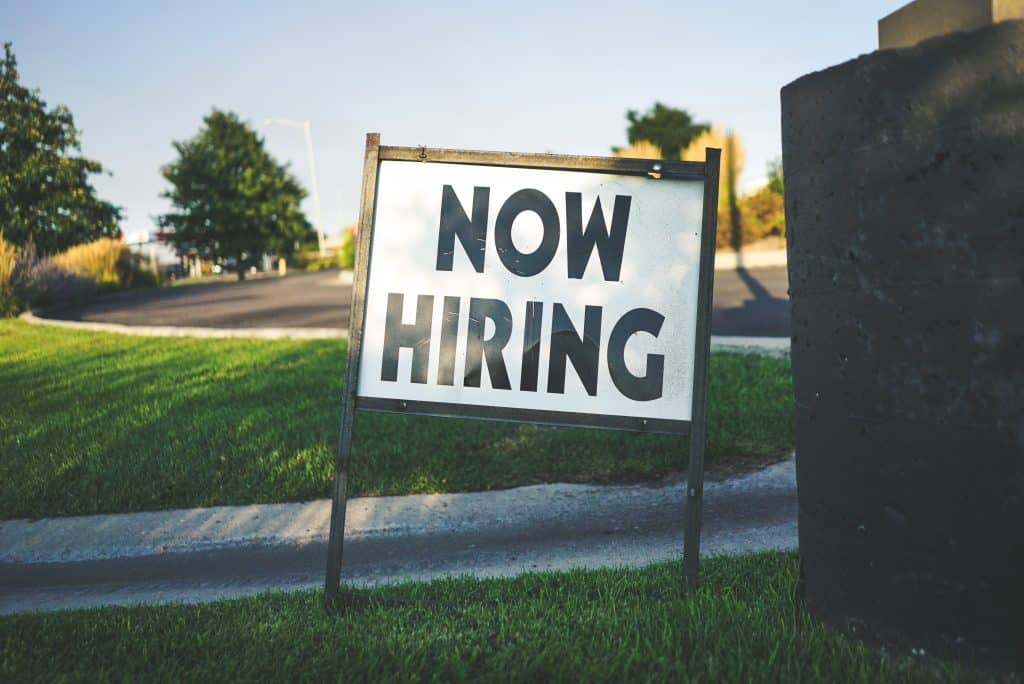 How long should I wait before following up on a job opportunity?